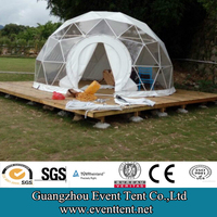 replace flat packed container house by geodesic dome house made in china