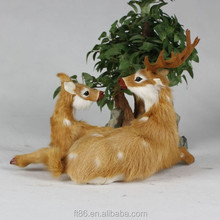 deer family figurine a couple of deer decorations deer in couples