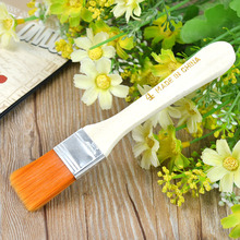 Nylon Acrylic Oil Artist Tool Drawing Varnish Painting Brush
