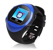 Wholesale smart Quads band wrist watch mobile phone PG88 watch phone user manual with GPS and SOS watch phone call function