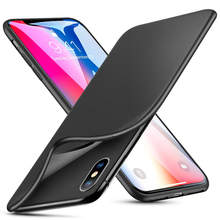 Fresh Matte Silicone Skin TPU Bumper Cover Case For iPhone X