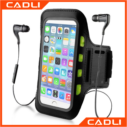 Gym Bike Cycle Running Silicone Armband phone case for Apple iPhone
