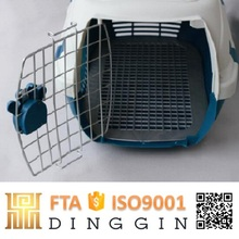 Plastic Dog Kennel in Air