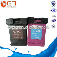 Ink cartridge remanufactured for HP 678 CZ107AA