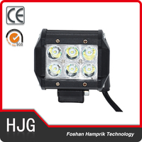 4x4 accessory Wholesale cheap led offroad light bar 18w led light bar
