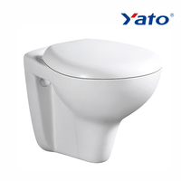 Two piece set wall hung toilet dual flush with high quality concealed tank YA-03 YATO