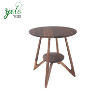 Stylish Small bamboo wood tea table side table
