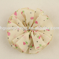 New ballet flower printed chiffon fancy hair accessories