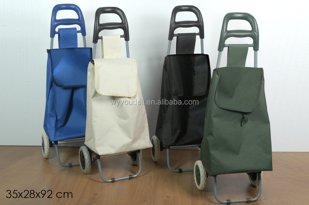 folding custom shopping trolley bag