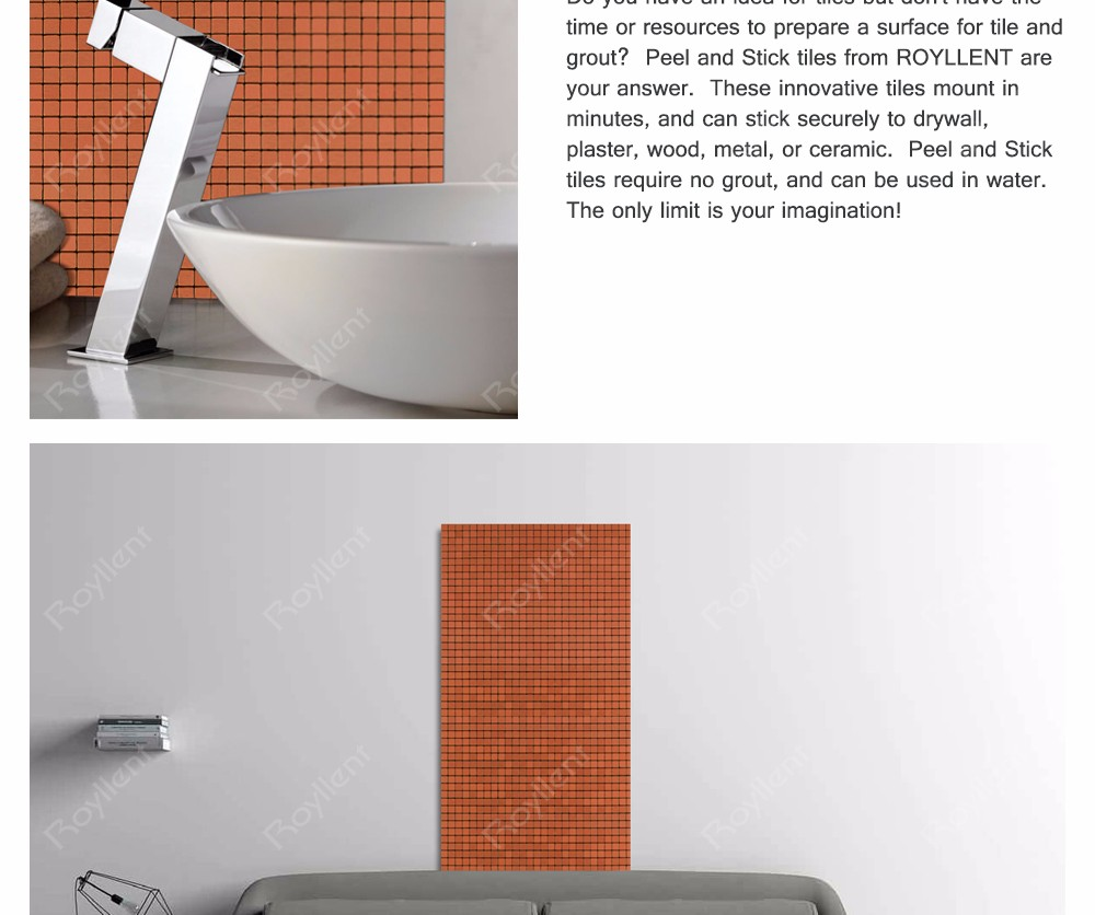 Interior Home Decoration Metal Mosaic tile Modern Kitchen Bathroom Design Building Materials China Supplier RM201639