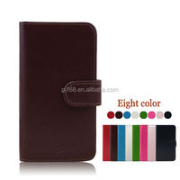 factory price phone cases wallet leather cover case for Lenovo A830