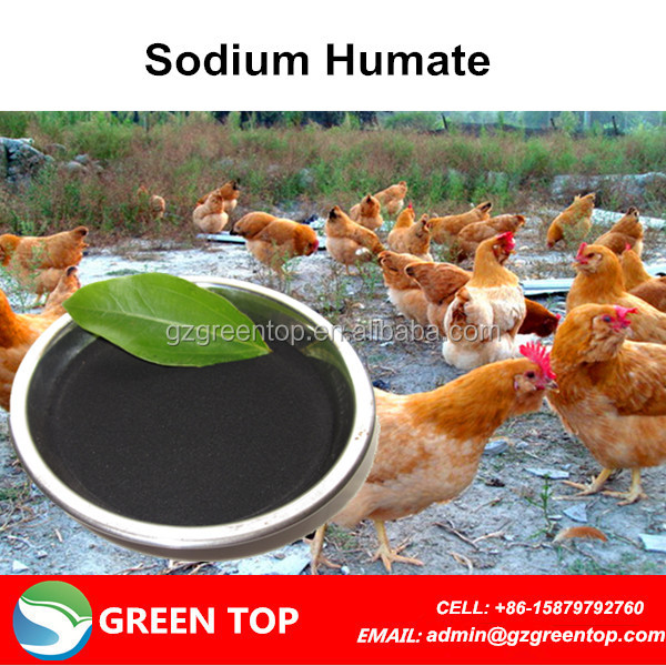 Sodium Humate Shniy Flakes Organic Fish Fertilizer