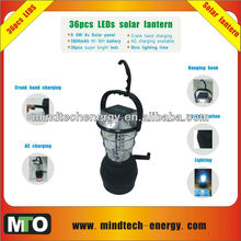 36pcs leds solar indoor outdoor lantern
