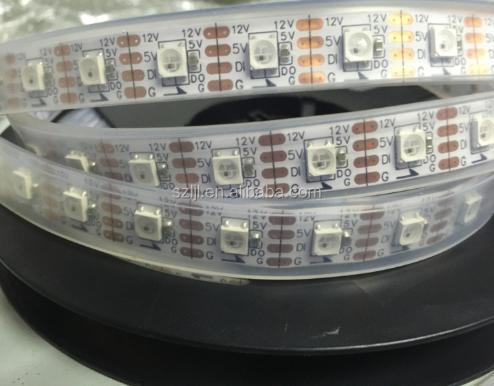 WS2811 WS2812B SK6812 Addressable color changing RGB led light strip