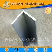ISO certificated aluminium angle extrusion profiles,L shape aluminium corner,all types of angle bar specification