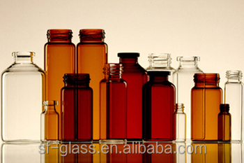 Chemical Industrial Use 20ml Glass Bottle