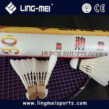 Anhui wholesale sporting high quality badminton shuttle cocks