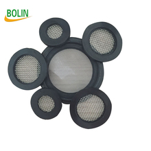 35 mesh stainless steel rubber washer filter for filtration water faucet (free sample)