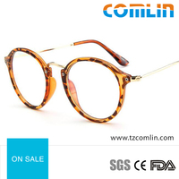 2016 New style Metal Temple Plastic Frame Optical Frame for lady