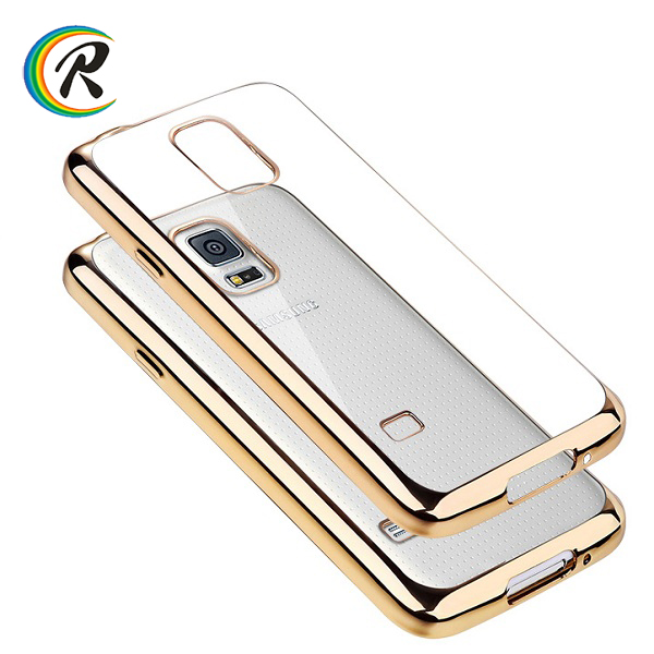 Mobile Phones s4 case for Samsung Note 4 wholesale cell phone plating tpu case