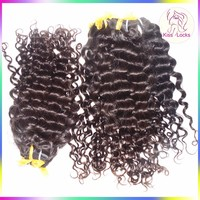 Factory Direct Sale Pure Hair Extension 10A Natural Italian Brazilian Curly Virgin Human Hair Weaving