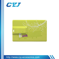 2014 cheap bulk business card usb flash drive accept OEM
