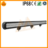 Long Life Time 324w high power 50 inch super bright waterproof dual color led lightbar