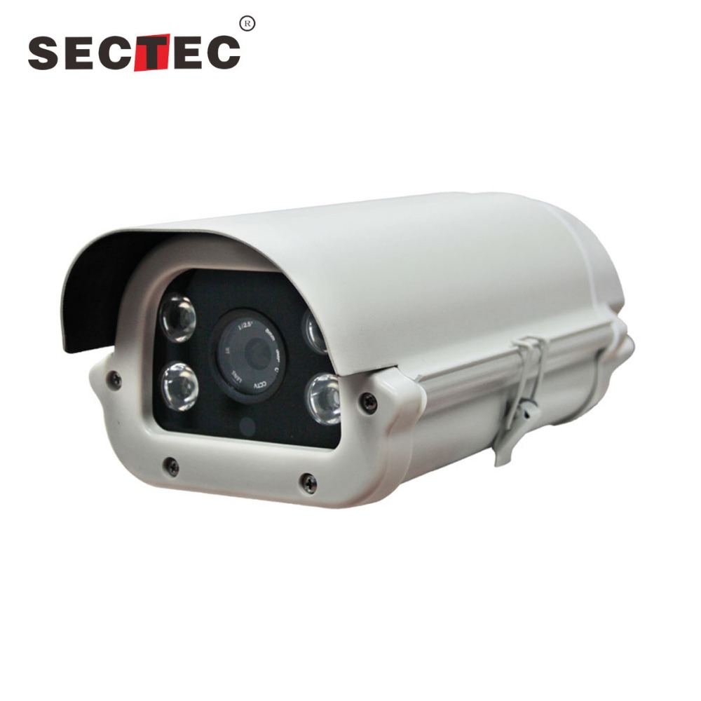 high speed car plate number recognition 2.0MP 1080P IP LPR cctv camera