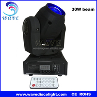 WLEDM-06-3C 30w rgbw led light moving head club decorations approvals