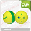 Hotselling Brazil World Cup soccer ball, special design rubber soccer ball