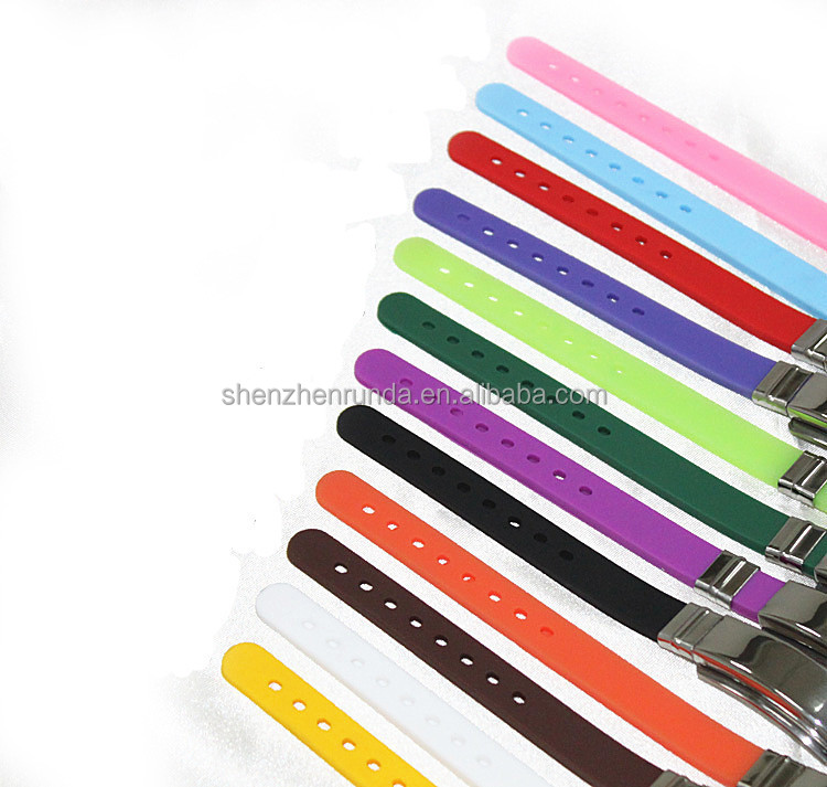 Customized bulk china manufactures fitness sports fashion silicone bracelet making for couple