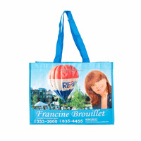 Printed shopping bags for promotion and outdoors,especially for supermarket