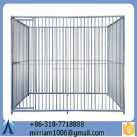 2015 Hot Sale New Design Square/Roun welded dog kennels and chain link dog cages