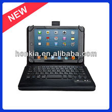 The Newest Detachable Bluetooth Keyboard with Leather Case for Samsung Galaxy Tab 3 7.0 and 8.0