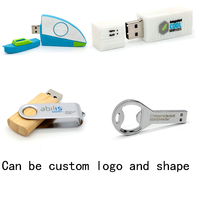 2gb / 4gb / 8gb Custom USB Flash Drive With Free Logo For Promote Gift