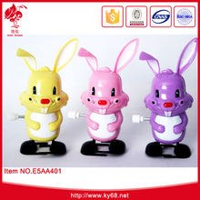Easter rabbit wind up rabbit walks clockwork funny toy easter toy for kids