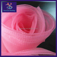 2014 hot sale 100% polyester fabric tulle wholesale