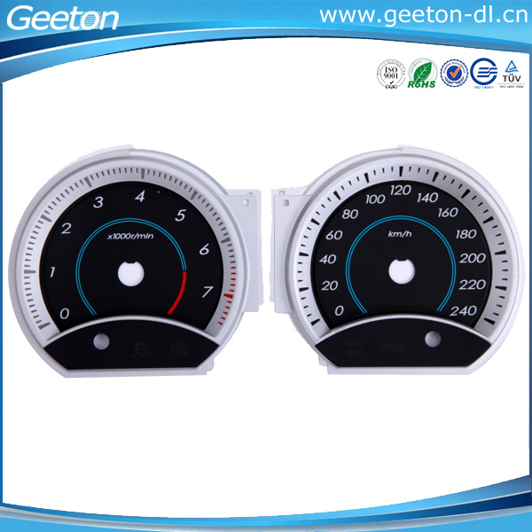 Universal Auto Gauges : Universal d light transmission auto meter gauge digital
