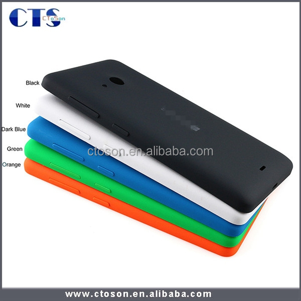 plastic mobile phone battery cover housing for nokia microsoft lumia 535 back accessory smartphone repair spare part replacement