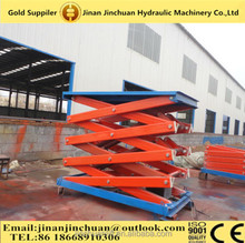 1.35~10m, 0.3 ton air hydraulic motocycle /lift top end /rotating scissor lift table