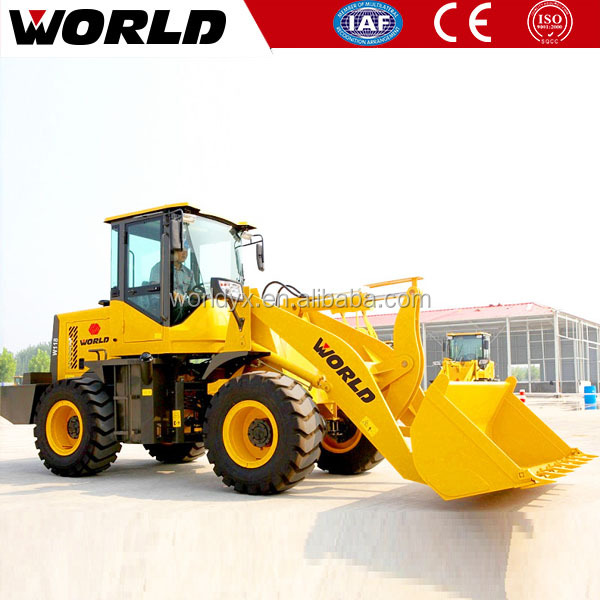 Front End Fork Auto Mini Wheel Loader With CE