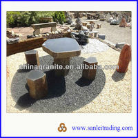 outdoor stone table set for sale