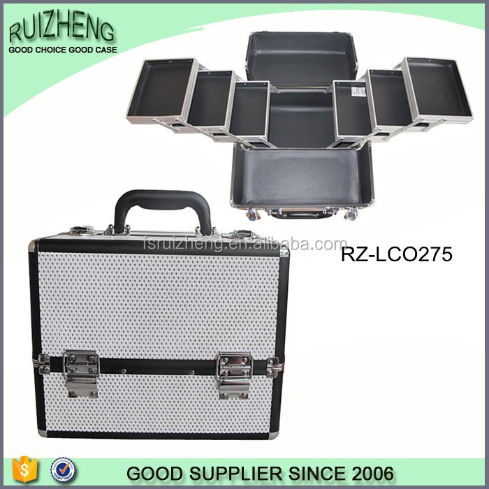 Cosmetic Portable cheap makeup kits case Aluminum Beauty case