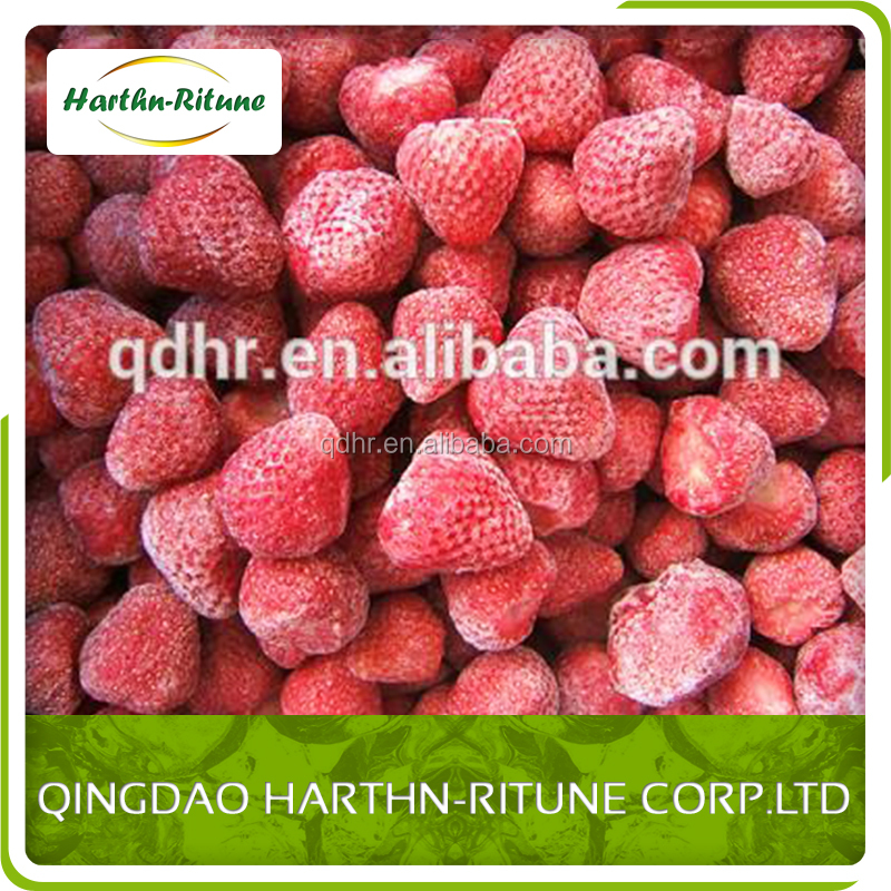China supplier bulk IQF/Frozen Strawberry