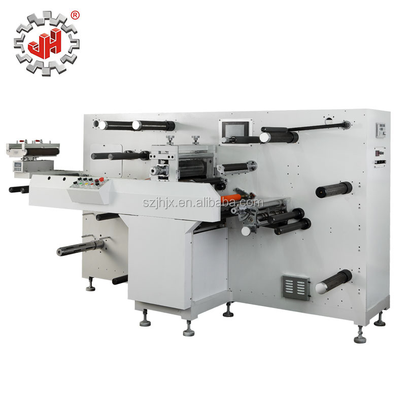 high speed JH-320 Intermittent Rotary label die cutting machine/rotary die cutter /label roll die cutting machine