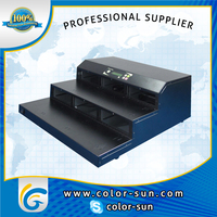 Duplicator system for CD copy machine, with hard disc
