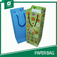 DIRECT FACTORY MACHINE MADE WINE PAPER BAG PRINTING
