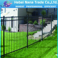 Decorative Low Price High Quality ISO9001 Wrought Iron fence