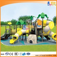 Amusement park outdoor children plastic play garden house