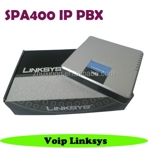 Cisco Linksys SPA400 Voice mail System with 4-Port FXO Voip Gateway Phone adapter
